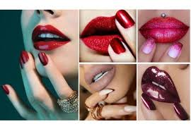 Should lipstick match nailpolish?
